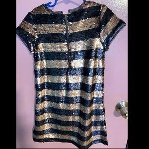 GAP Dresses - Sequin striped dress GAP